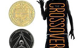 "Graphic cover of ""The Crossover"" by Kwame Alexander. Courtesy of Houghton Mif..."