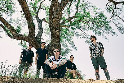 Promotional photo of the band The Story So Far. Courtesy ...