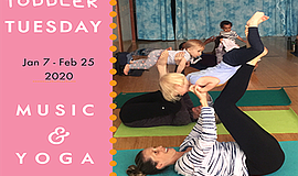 Promo graphic for Toddler Tuesdays 8 Week Series: Jan 2020