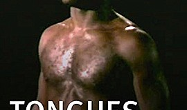 """Promotional film graphic for """"Tongue's Untied."""" By filmmaker Marlon Riggs"""