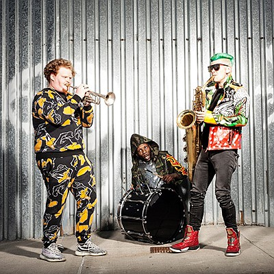 Promotional photo of Too Many Zooz. Courtesy of Belly Up ...