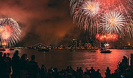 Photo from last year's July 4th celebration. Courtesy of ...
