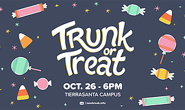 Promotional graphic for Trunk Or Treat. Courtesy of Newbr...