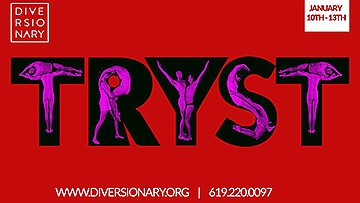"A promotional poster for ""Tryst,"" courtesy of Diversionary."