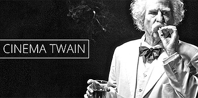 """A promotional photo of """"Cinema Twain,"""" courtesy of Theate..."""
