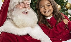 Promo graphic for Santa Photos At Westfield UTC