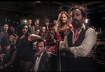 A photo of the band Vaud and the Villains, courtesy of Th...