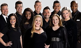 Promotional photo of Voctave a cappella group. Courtesy o...