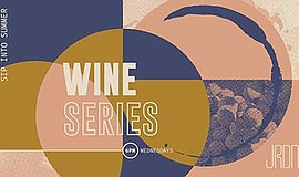 Promo graphic for JRDN Summer Wine Series - Neyers Wine...