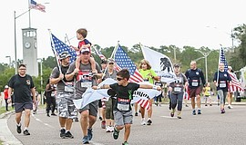 Promotional photo of Wounded Warrior 5K. Courtesy of Woun...