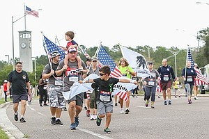 Promotional photo of Wounded Warrior 5K. Courtesy of Wounded Warrior Project.