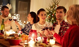 Promotional photo for the Christmas Dinner at 20 Twenty. ...