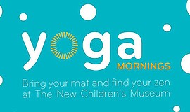 Promo graphic for Yoga Mornings