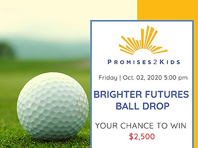 Promotional graphic for the Golf Ball Drop. Courtesy of P...