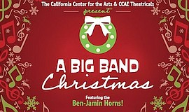 Promotional graphic for Drive-In: 'A Big Band Christmas'....