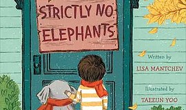 Promo graphic for Live Storytime: 'Strictly No Elephants'