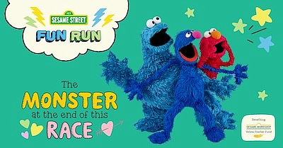 Promotional photo for Sesame Street Virtual Fun Run. Cour...