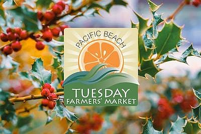 Promotional photo for Pacific Beach Farmers Market. Court...