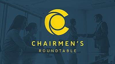 Graphic logo for the Chairmen's RoundTable