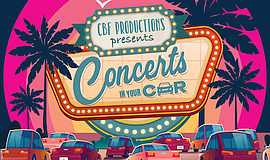 Promo graphic for 'Concerts In Your Car™' Brings The Be...