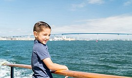 Promo graphic for Kids Cruise Free Month