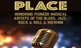 Promo graphic for 'Bojo's Place' - A Musical Revue