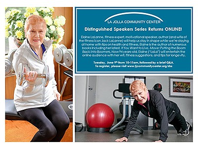 Promotional graphic for Distinguished Speaker Series Onli...