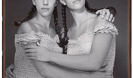 Promo graphic for Mary Ellen Mark: Twins