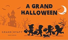 Promotional graphic for A Grand Halloween. Courtesy of th...