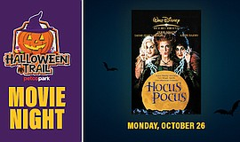 Promotional graphic for Halloween Trail After Dark Featur...