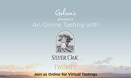 Promo graphic for Gelson's Presents Silver Oak And Twom...