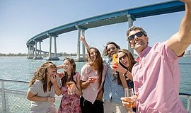 Promotional photo for Sights and Sips Cocktail Cruises. C...