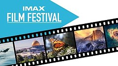 Promotional graphic for IMAX Film Festival. Courtesy of the Fleet Science Cen...