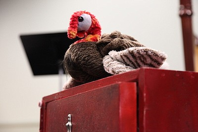 Promotional photo for Annual Turkey Calling Show. Courtes...