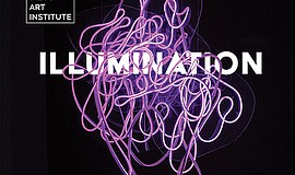 """Promotional graphic for """"Illumination,"""" featuring artwork..."""