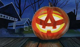 Promotional photo for Paint And Sip - Happy Halloween. Co...