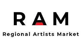 Promotional graphic for Regional Artists Market. Courtesy...