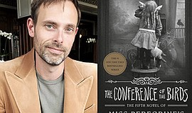 Promotional photo of Ransom Riggs. Credit: Tahereh Mafi 2019