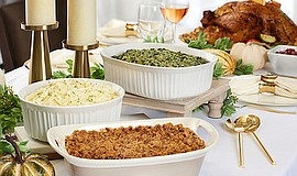 Promotional photo of Thanksgiving meal. Courtesy of Ruth'...