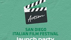 Promotional graphic for the launch party, courtesy of San Diego Italian Film ...
