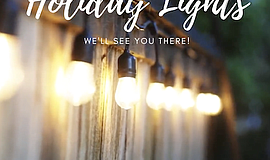 Promotional photo of lights for Holiday Lights. Courtesy ...
