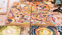 Promotional photo of artwork for First Friday Arts District. Courtesy of Libe...