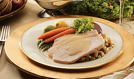 Promotional photo for The Abbey Thanksgiving Dinner. Cour...