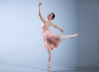 "Promotional photo of ballet dance for ""Moving Forward."" C..."