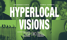 Promo graphic for Hyperlocal Visions