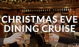 Promotional photo for Christmas Eve Dining Cruise. Courte...