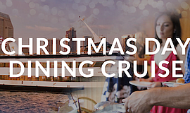 Promotional photo for Christmas Day Dining Cruise. Courte...