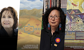 Promo graphic for Virtual conversation With Native Amer...