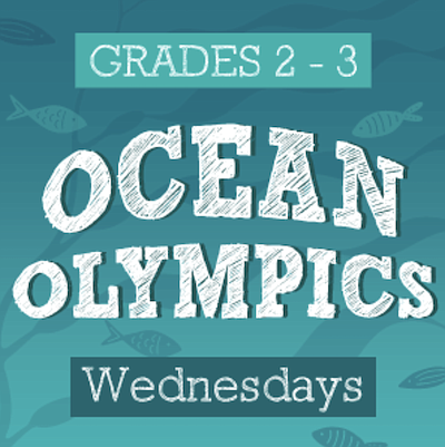 Promotional photo for Ocean Olympics Virtual After School...