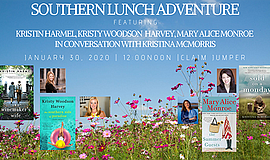 Promo graphic for Southern Author Lunch Adventure